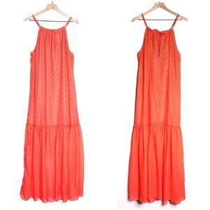 Trina Turk Cloverdale Chiffon Maxi Dress | D491